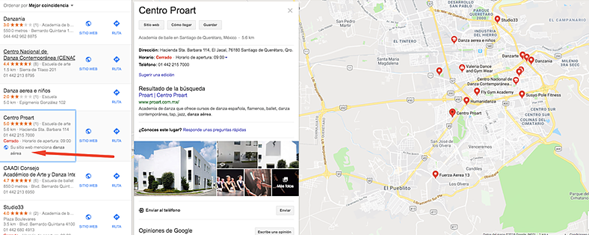 Seo en Mapas de Google
