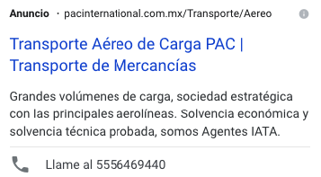 google adwords mexico